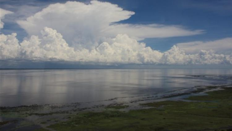 Photo of Lake Okeechobee by Inger Hansen, DEP