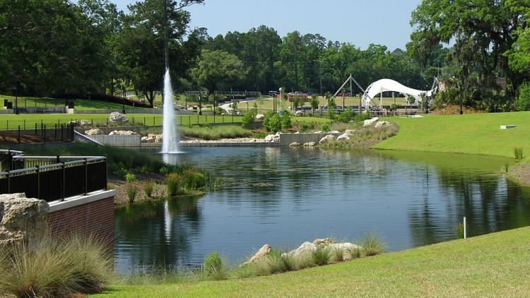 Cascades Park Stormwater Project, Tallahassee, FL