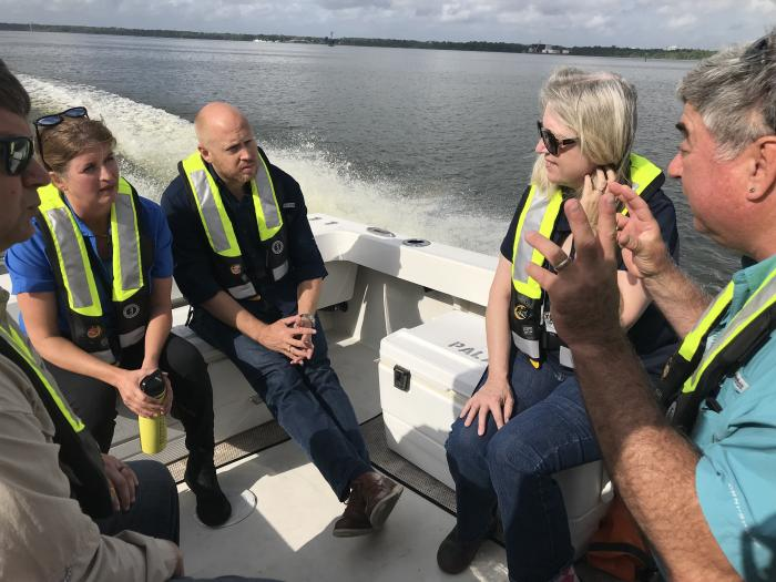 St. Johns Tour Of Algal Bloom