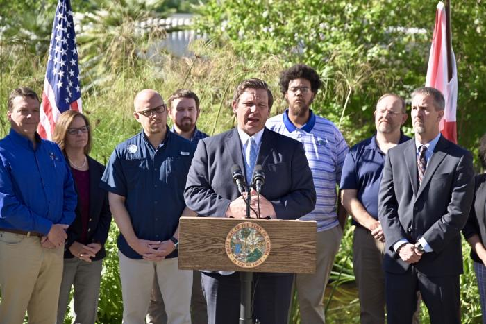 Governor Outlines Environmental Priorities At The University Of Florida